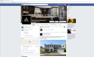 The Duchess Homes Facebook Page
