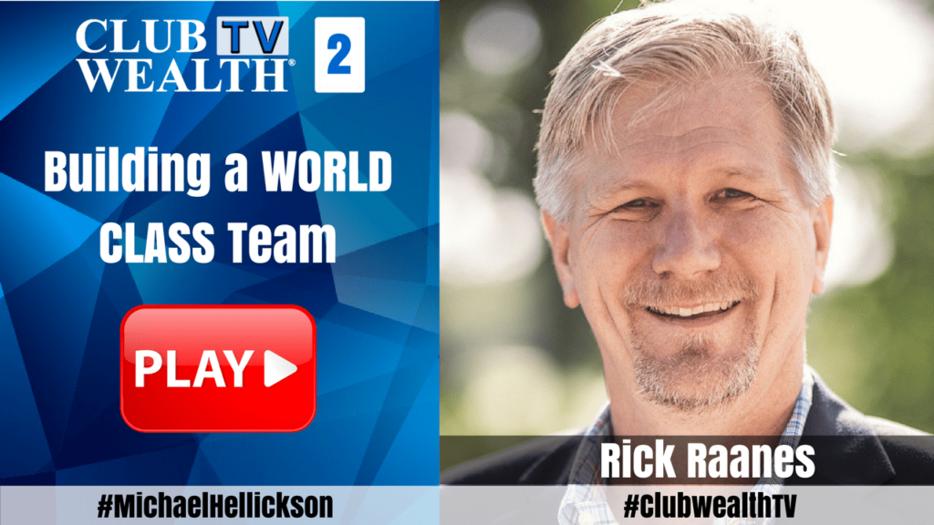 Club Wealth TV Episode 2 with Rick Raanes