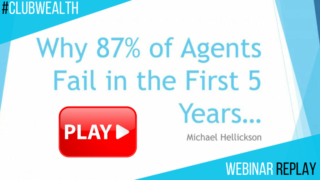 Why 87% of agents fail in the first 5 years... Webinar